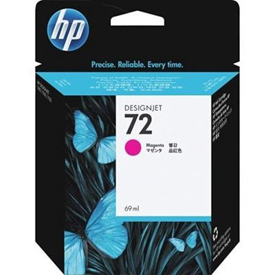 Picture of HP 72 Ink Cartridges Magenta (69 mL)
