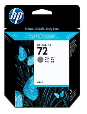 Picture of HP 72 Ink Cartridges Gray (69 mL)