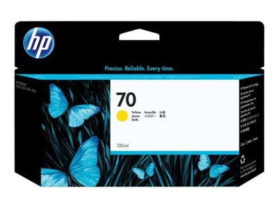 Picture of HP 70 Ink for Designjet Z2100/Z3100/Z3200 - Yellow