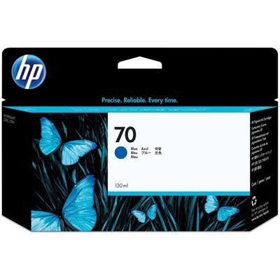 Picture of HP 70 Ink for Designjet Z3100/Z3200 - Blue