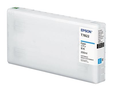 Picture of EPSON UltraChrome D6-S Cyan Ink for D700 (200 mL)