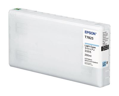 Picture of EPSON UltraChrome D6-S Light Cyan Ink for D700 (200 mL)
