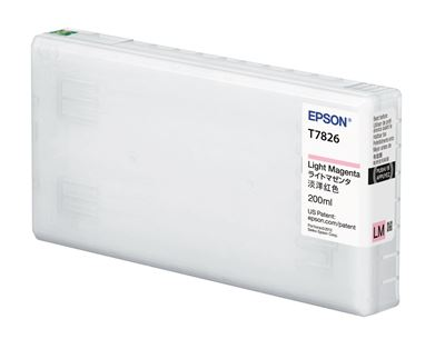 Picture of EPSON UltraChrome D6-S Light Magenta Ink for D700 (200 mL)
