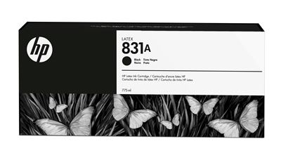 Picture of HP 831A 775ml Latex 300/500 Series Ink - Black