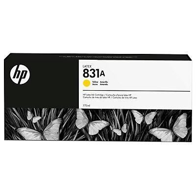 Picture of HP 831A 775ml Latex 300/500 Series Ink - Yellow