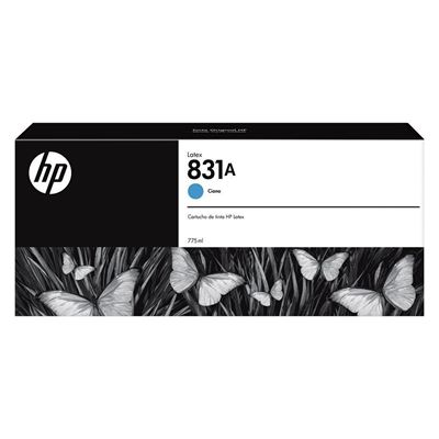 Picture of HP 831A 775ml Latex 300/500 Series Ink - Cyan