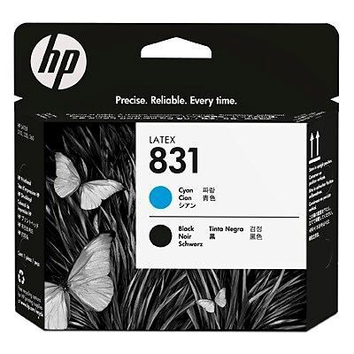 Picture of HP 831 Latex 100/300/500 Series Printheads - Black/Cyan