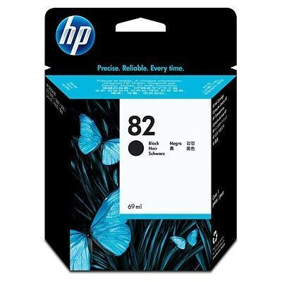 Picture of HP 82 Black Ink Cartridge