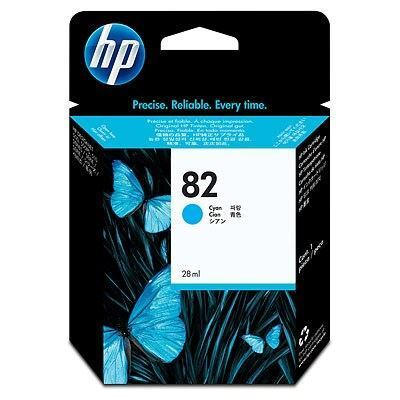 Picture of HP 82 Cyan Ink Cartridge