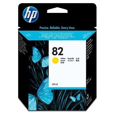 Picture of HP 82 Yellow Ink Cartridge