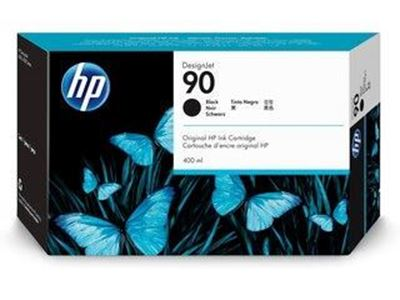 Picture of HP 90 Black Ink Cartridge for Designjet 4000 Series - 400 mL