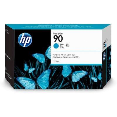 Picture of HP 90 Cyan Ink Cartridge for Designjet 4000 Series - 225 mL