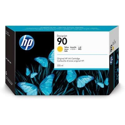 Picture of HP 90 Yellow Ink Cartridge for Designjet 4000 Series - 225 mL
