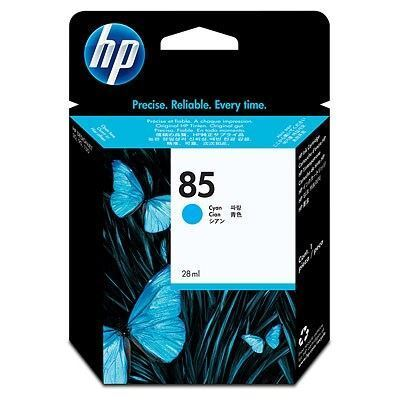 Picture of HP 85 Cyan Ink Cartridge