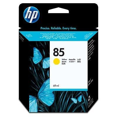 Picture of HP 85 Yellow Ink Cartridge
