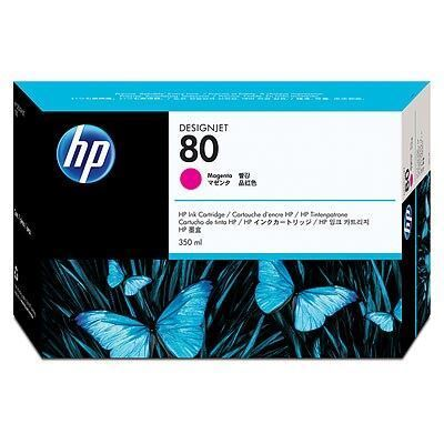 Picture of HP 80 Magenta Ink Cartridge for Designjet 1000 Series - 350 mL