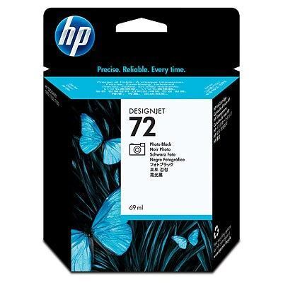 Picture of HP 72 Ink Cartridges Photo Black (69 mL)