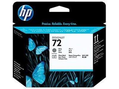 Picture of HP 72 Ink Print Head Gray and Photo Black