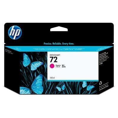 Picture of HP 72 Ink Cartridges Magenta (130 mL)