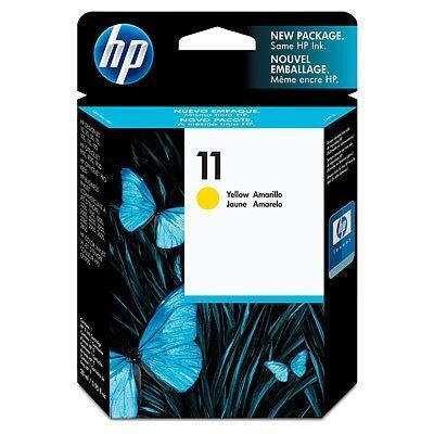Picture of HP 11 Yellow Ink Cartridge