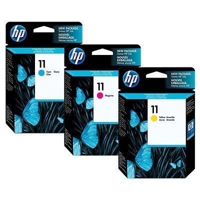 Picture of HP 11 Ink Cartridges