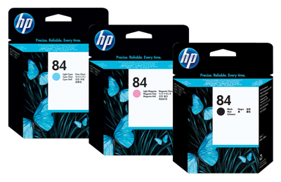 Picture of HP 84 Printheads
