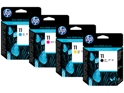 Picture of HP 11 Printheads