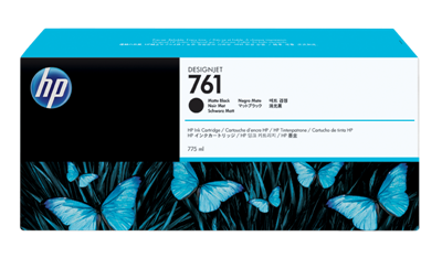 Picture of HP 761 Ink for Designjet T7100- Matte Black (775 mL)