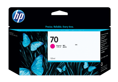 Picture of HP 70 Ink for Designjet Z2100/Z3100/Z3200 - Magenta