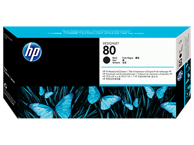 Picture of HP 80 Black Printhead