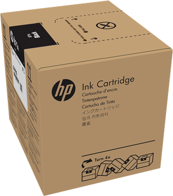 Picture of HP 871A 3-Liter Black Ink for Latex 370/570