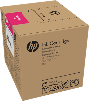 Picture of HP 871A 3-Liter Magenta Ink for Latex 370/570