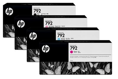 Picture of HP 792 Ink Cartridges for HP Latex 210/260/280 Printers