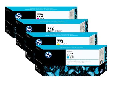 Picture of HP 772 Ink Cartridges for Designjet Z2100/3100/3200/5200/5400 (300 mL)