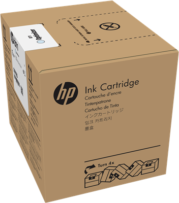 Picture of HP 871A Latex 370/570 3-Liter Ink- Latex Optimizer