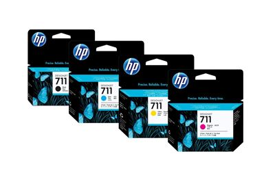 Picture of HP 771 Ink Cartridges for Designjet Z6200 w/Vivid Photo Ink