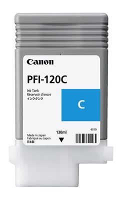 Picture of Canon imagePROGRAF TM-Series Ink - Cyan (130 mL)