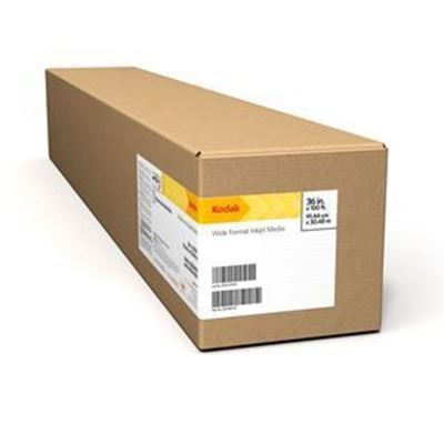 Picture of KODAK PROFESSIONAL Inkjet Photo Paper, Glossy / 255g- 44in x 100ft