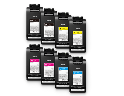 Picture of EPSON UltraChrome GS3 Ink for SureColor S60600L and S80600L, Yellow (1.5 L)