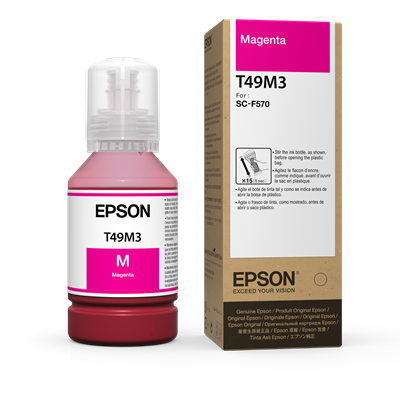 Picture of EPSON SureColor F570 Ink Bottles , Magenta (140 ml)
