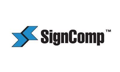 Picture of SignComp Front Load Soft Signage Kit - Anodized - 50in x 85in