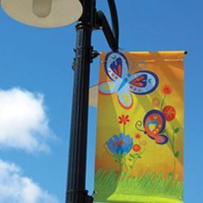Picture of Ultraflex Pole Banner Blockout, 18oz - 38in x 115ft