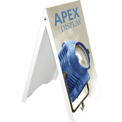 Picture of LexJet APEX Double Sided A-Frame Sign Stand