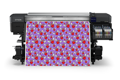 Picture of EPSON SureColor F9470 Dye-Sublimation Inkjet Printer - 64in