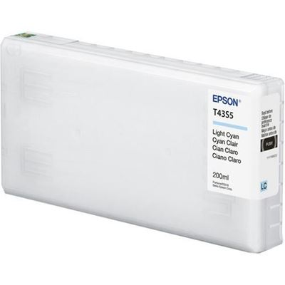 Picture of EPSON UltraChrome D6r-S Ink for SureLab D870 - Light Cyan (200mL)