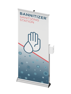 Picture of LexJet Bannitizer Sanitizing Station