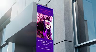 Picture of HP 15-oz Prime Double-sided Blockout Banner