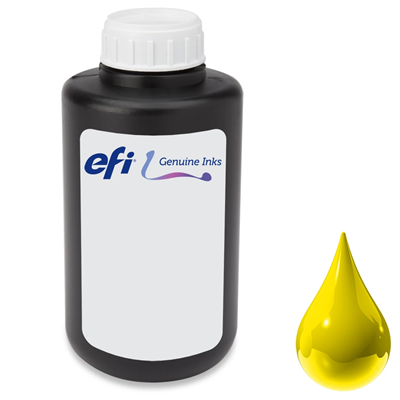 Picture of EFI PROGRAPHICS UV POP Ink for Pro 24f, Pro 16h and H1625 - Yellow - 1L