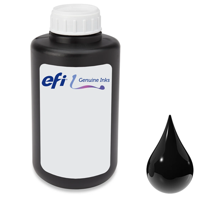 Picture of EFI PROGRAPHICS UV 3M Ink for Pro 24f, Pro 16h and H1625 - Black - 1L