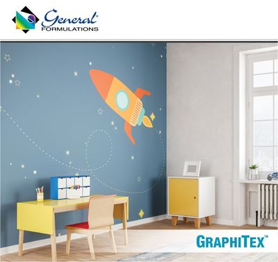 Picture of General Formulations 234 Graphitex™ Wall Fabric